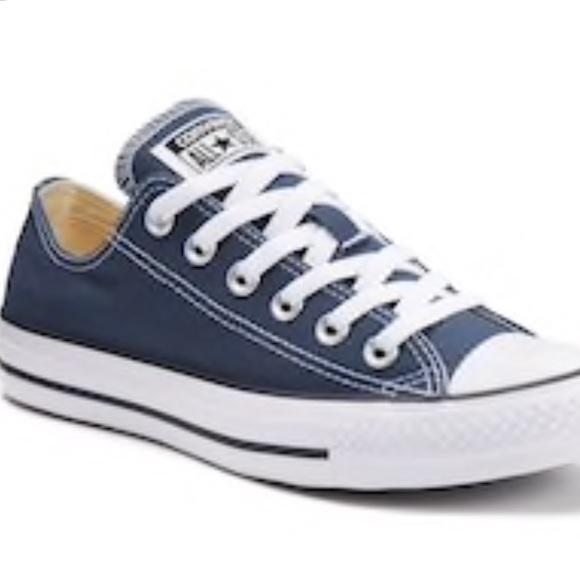 2b5529abc02f Converse Shoes - Navy blue light blue converse